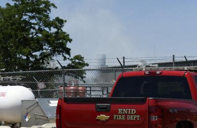 Firefighters respond to blaze at Atwoods