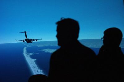 Instructor, student pilots experience NVG training through new lenses