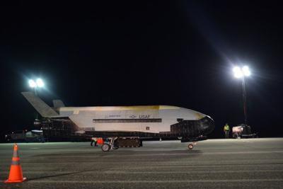 X-37B breaks record, lands after 780 days in orbit