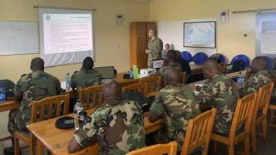 U.S. Air Forces Africa builds partnership with Malawian air force