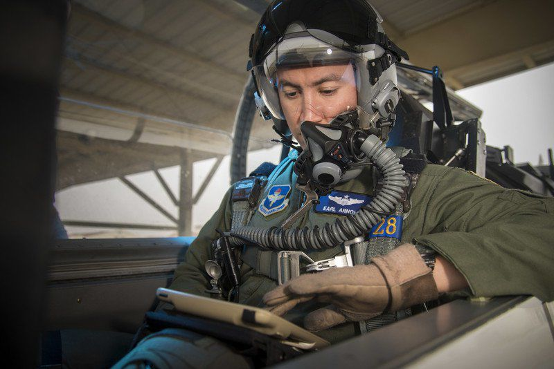 12 FTW aircrews testing iPads for use throughout AETC