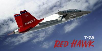 New Air Force trainer to replace T-38C named Red Hawk