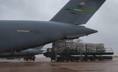 62nd AW delivers humanitarian aid to Honduras