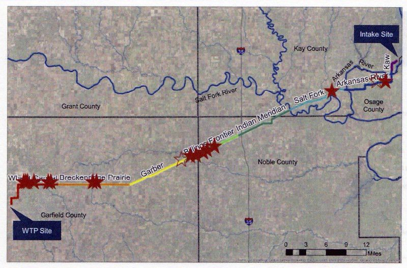 Critical steps ahead for Kaw Lake pipeline