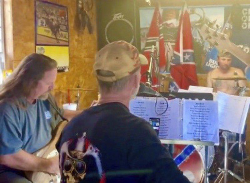 Major County candidate to host private event for band tied to Nazi symbols