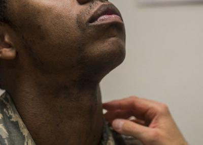 Air Force Surgeon General authorizes 5-year shaving waivers