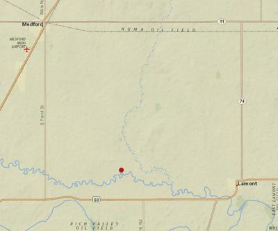 Earthquake shakes Lamont area