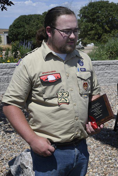 Eagle Scout project builds memorial flag garden at 4RKids