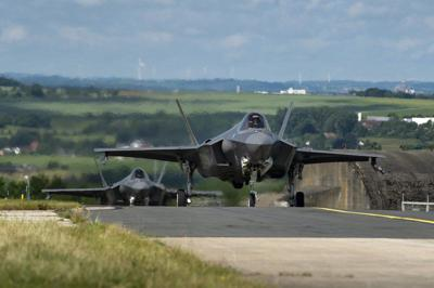 Hill AFB F-35As arrive at Spangdahlem AB