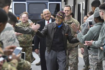 Tuskegee Airman receives promotion to brigadier general