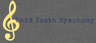 Enid Youth Symphony performing free fall concert
