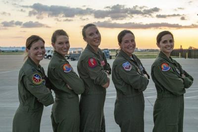 Altus' Women Warriors inspire aviators to 'Fly Like a Girl'