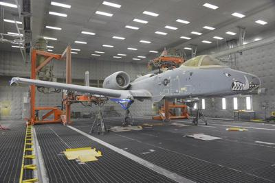 576th AMXS leverages robotic paint stripping technology on A-10