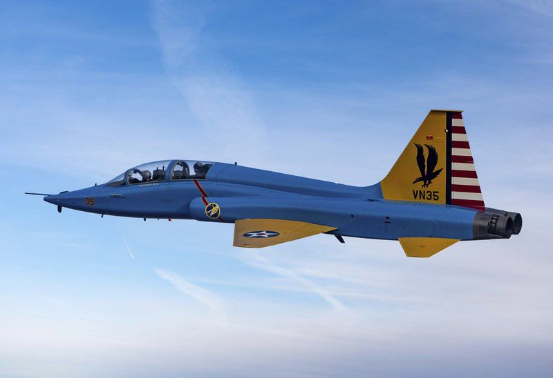 Vance adopting historic aircraft paint schemes to honor Air Force heritage