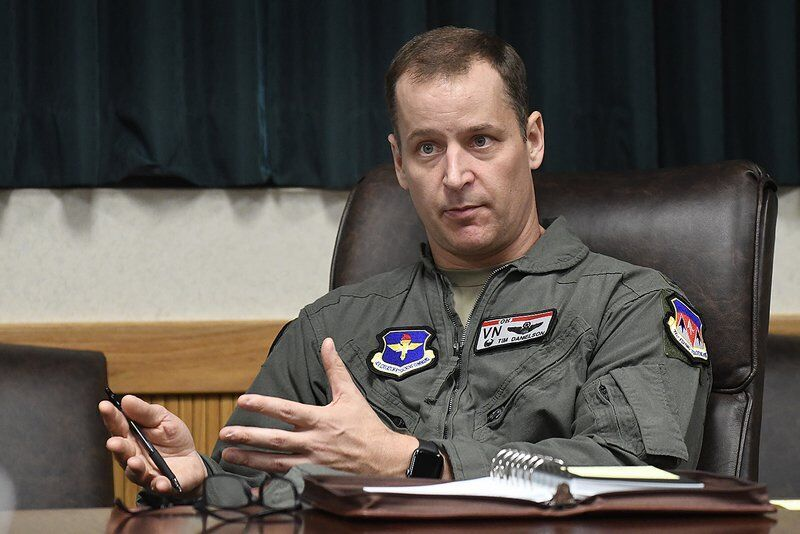 New Vance commander faces challenges to meet pilot production goals
