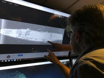 Researchers find 2nd warship from WWII Battle of Midway