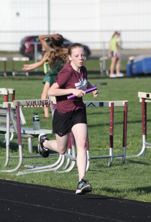 ohio middle school track meet results