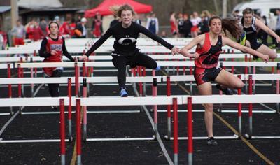 Peyton Miller 100m hurdles