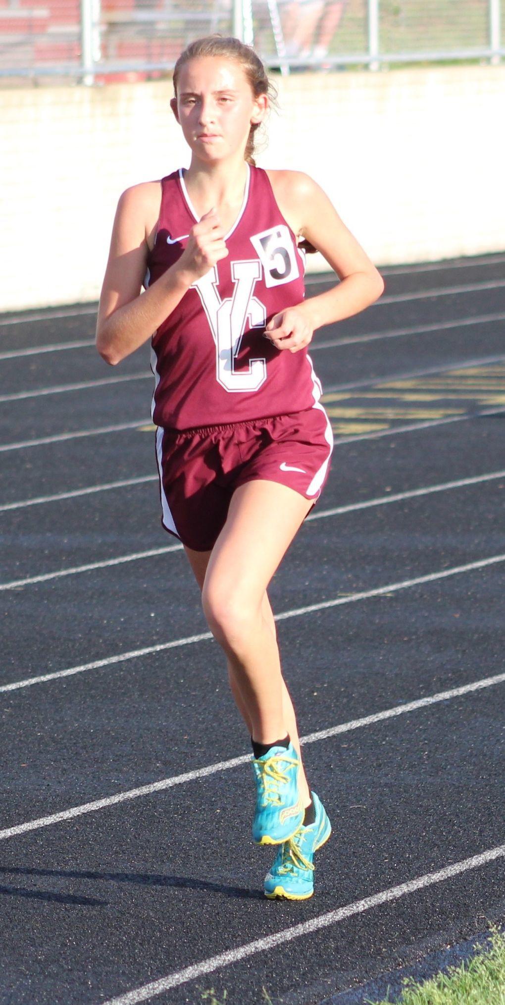 Rylee Fee girls 3,200m run