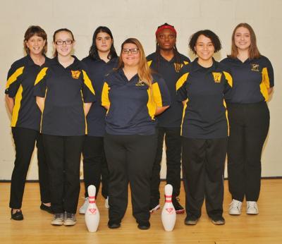 Wellston Girls Bowling Team
