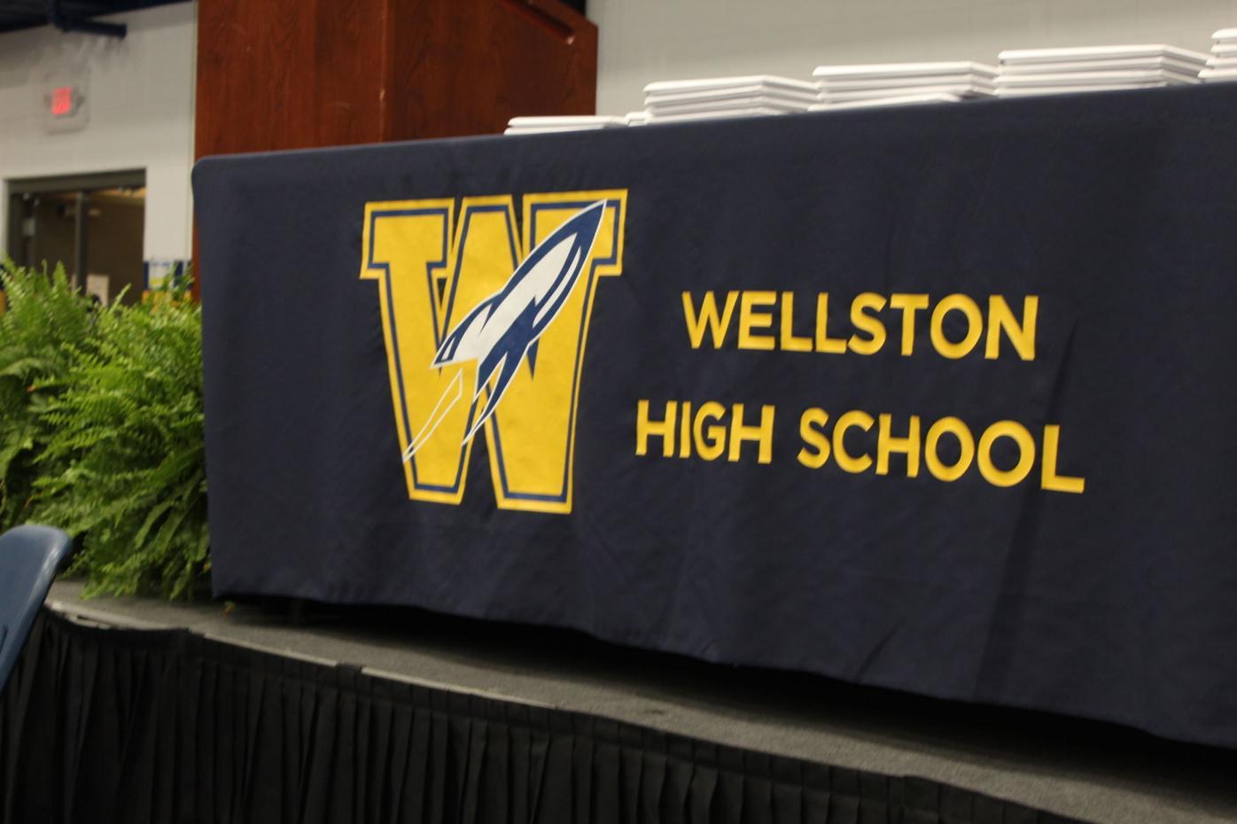 Wellston podium