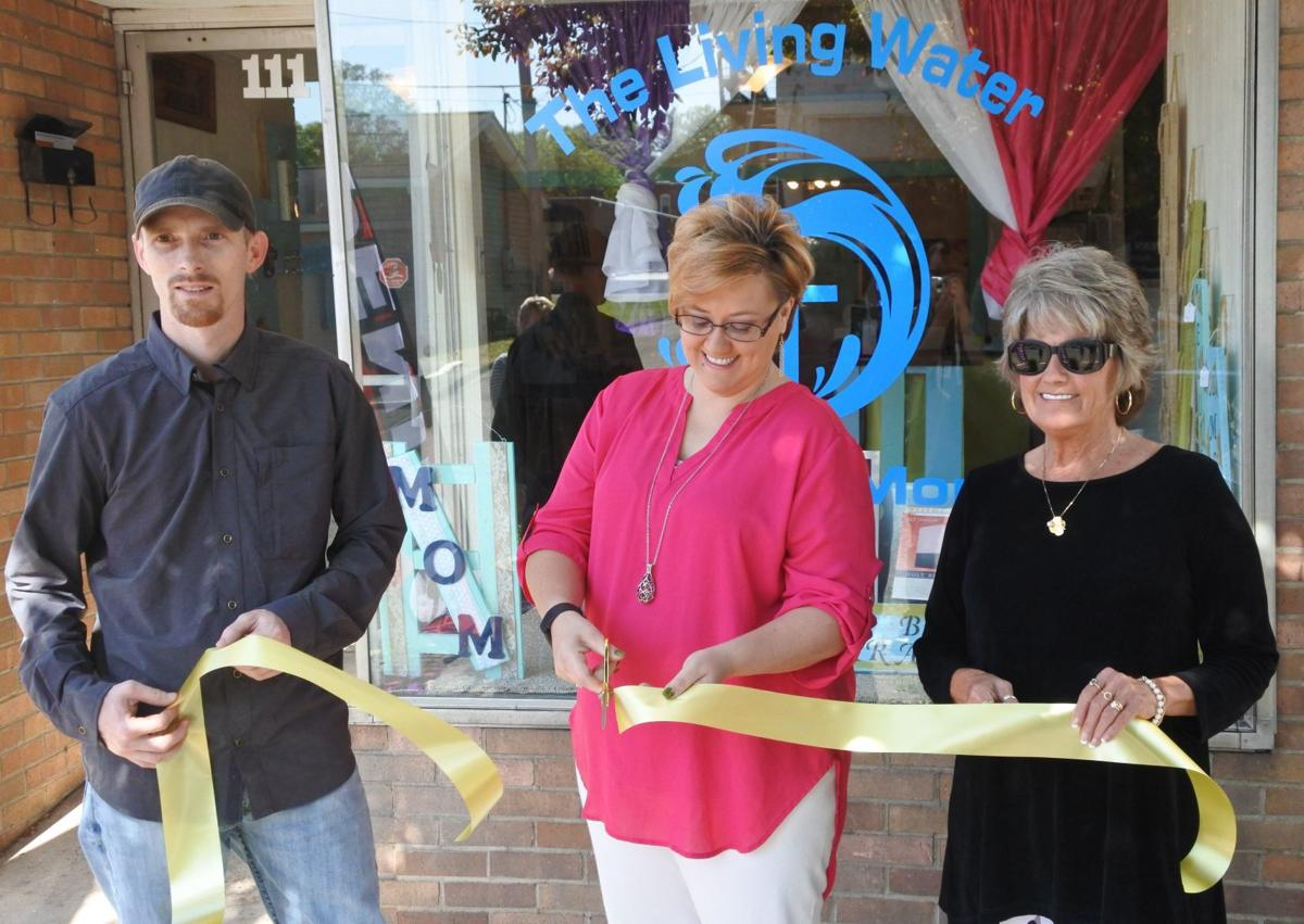 Ribbon Cutting: The Living Water Bibles and More