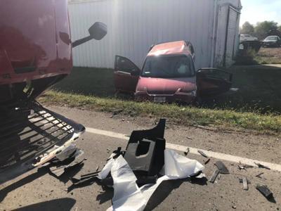 Crash on Route 93