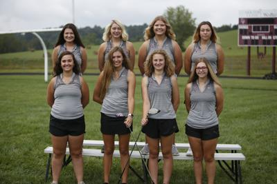 2019 Vinton County girls golf team