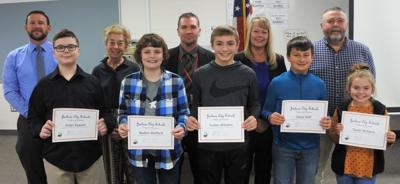 JCS District Spelling Bee winners