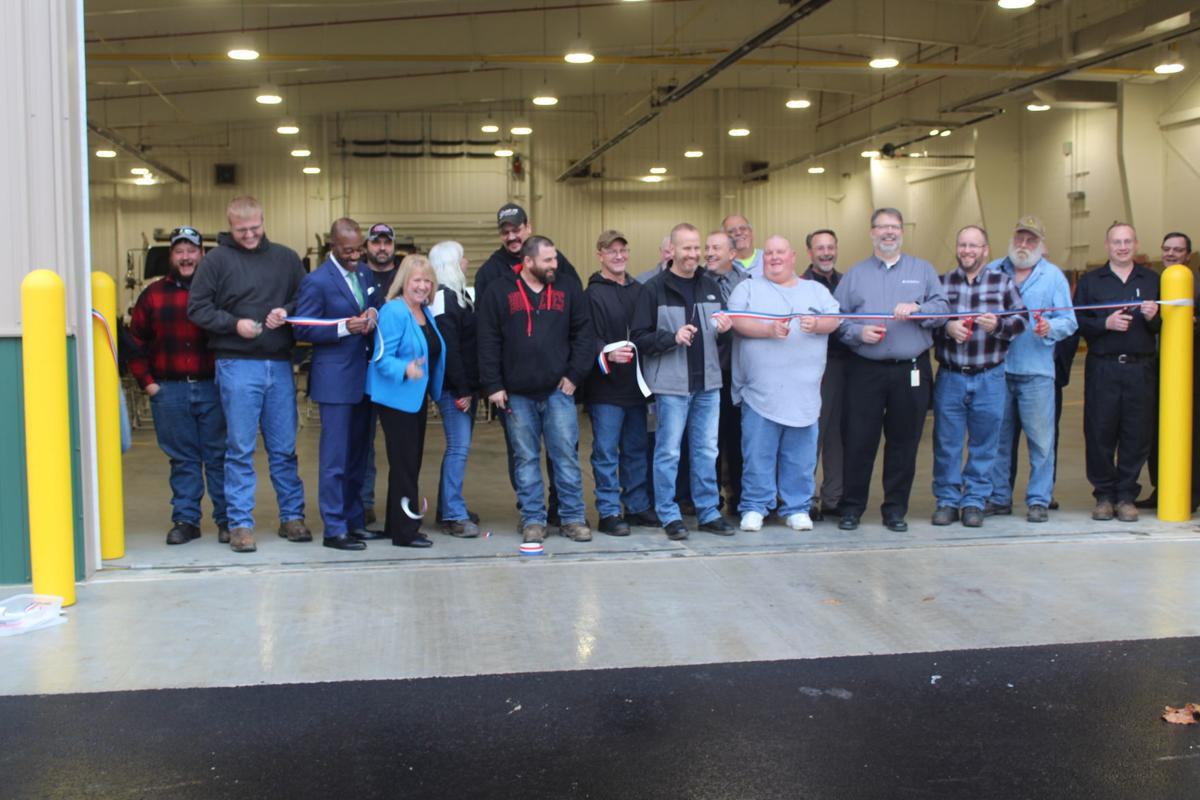ODOT unveils new Vinton County garage