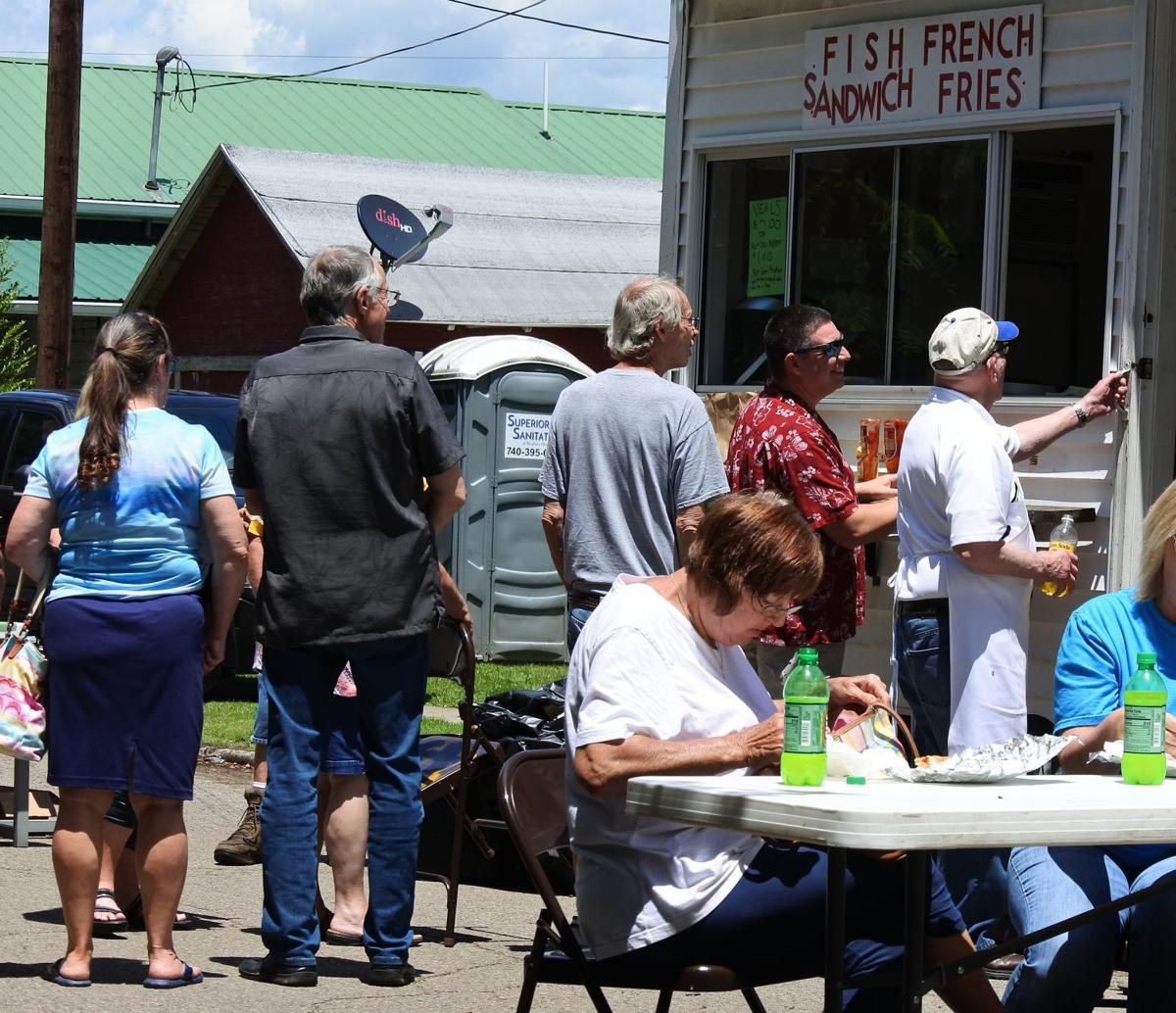 Line for Jackson County veal