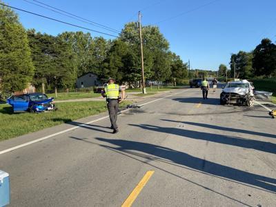 Scene of fatal SR93 crash