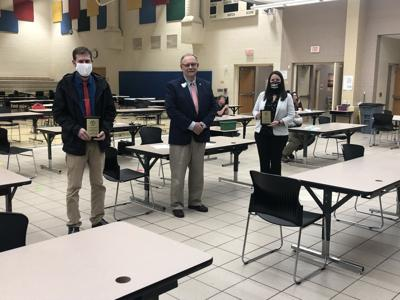 Schools and Board Member recognized at BOE meeting