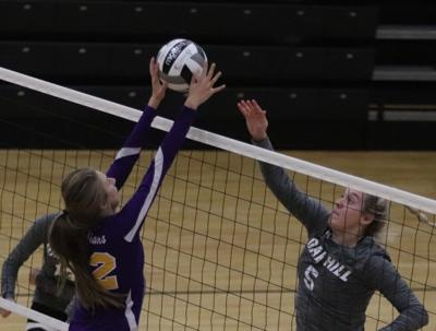 Valley at Oak Hill volleyball