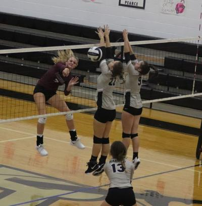 Vinton County at River Valley volleyball