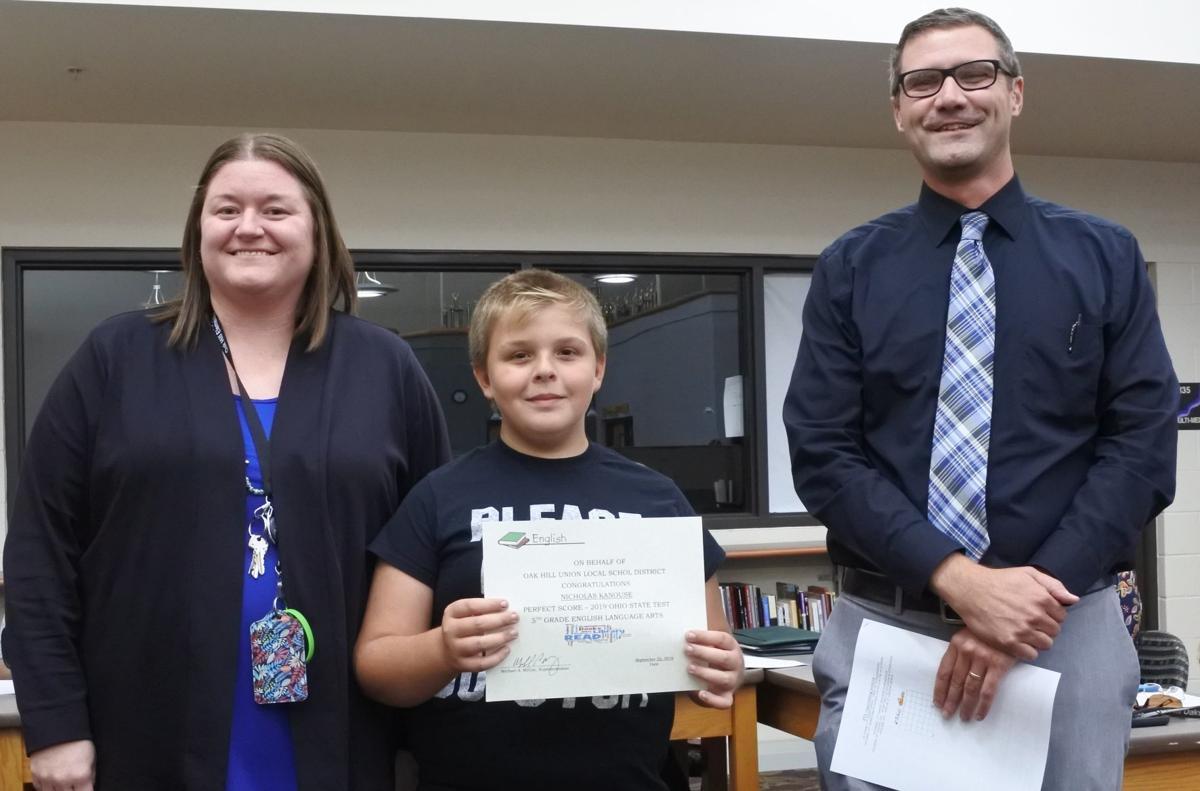 Fifth Grade honoree
