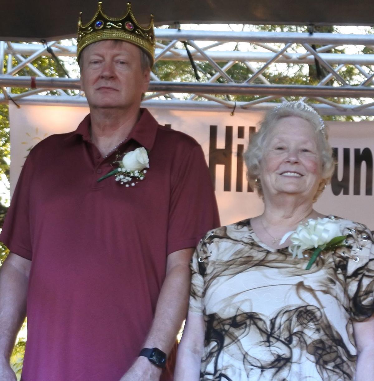 Holsinger, McGuire named OHillCo Senior Citizen Club Royalty