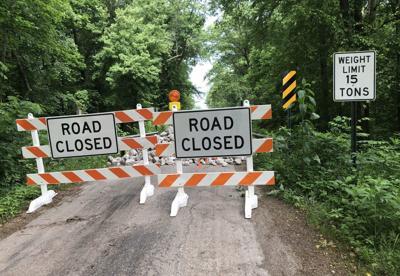 Antioch Road closed due to failing bridge