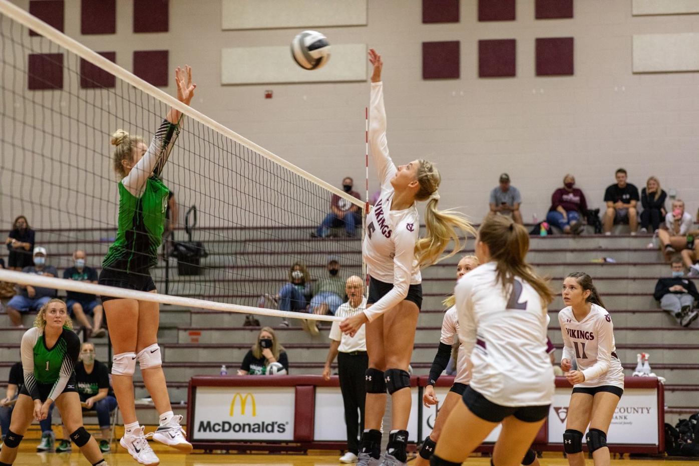 Huntington at Vinton County volleyball