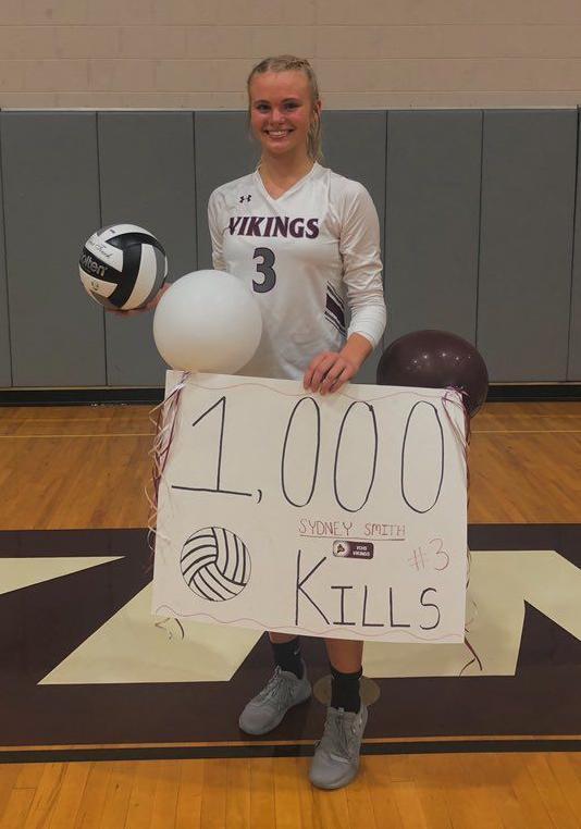 Sydney Smith 1,000th kill