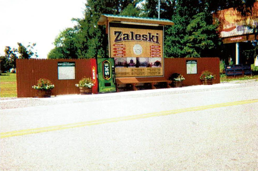 Zaleski information center