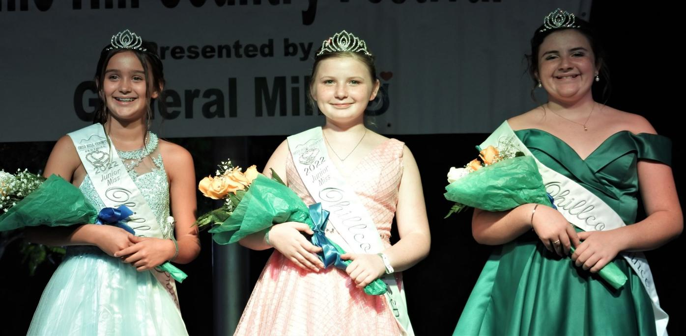 2022 Wellston Ohio Hill Country Festival Jr. Miss Royalty