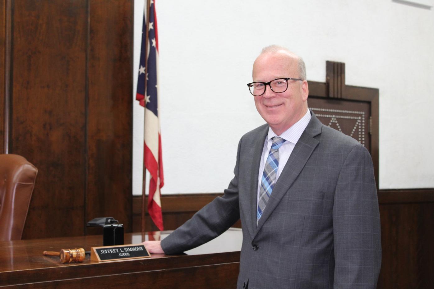 Common Pleas Court Judge Jeff Simmons