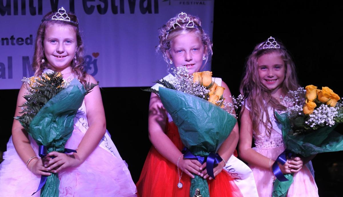 2020 Wellston Ohio Hill Country Festival Little Miss Royalty