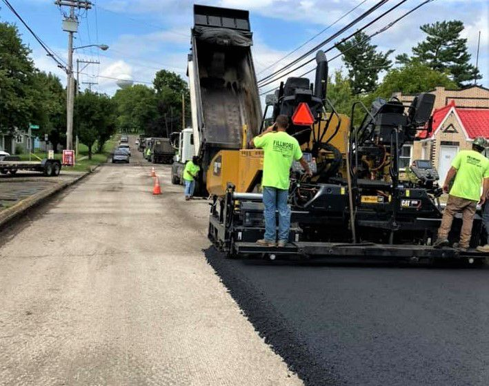Paving Chillicothe Street