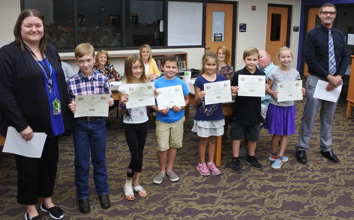 Third Grade honorees