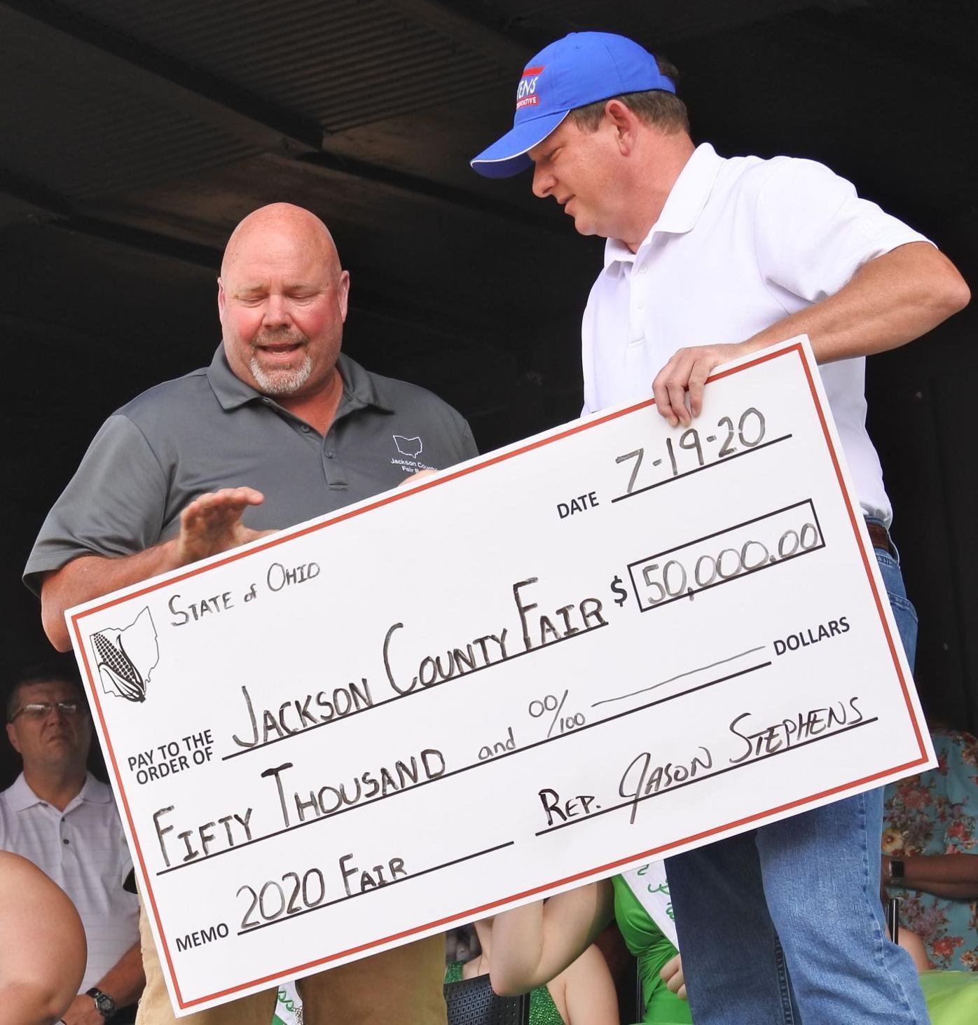 $50,000 check