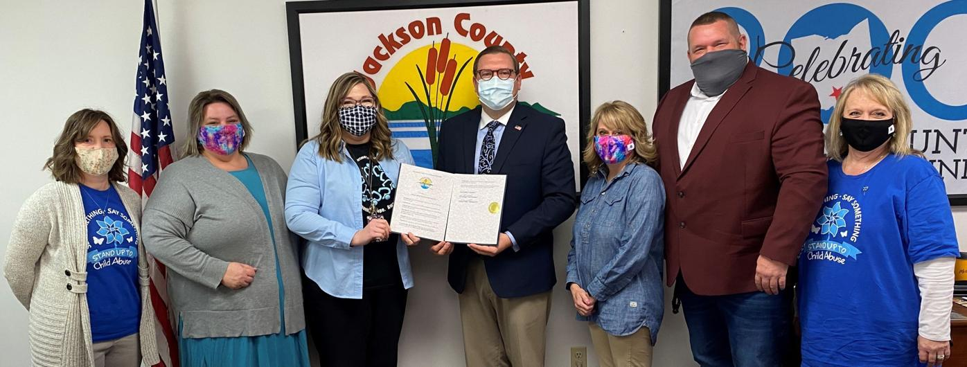 """""""Child Abuse Prevention Month"""" in Jackson County"""