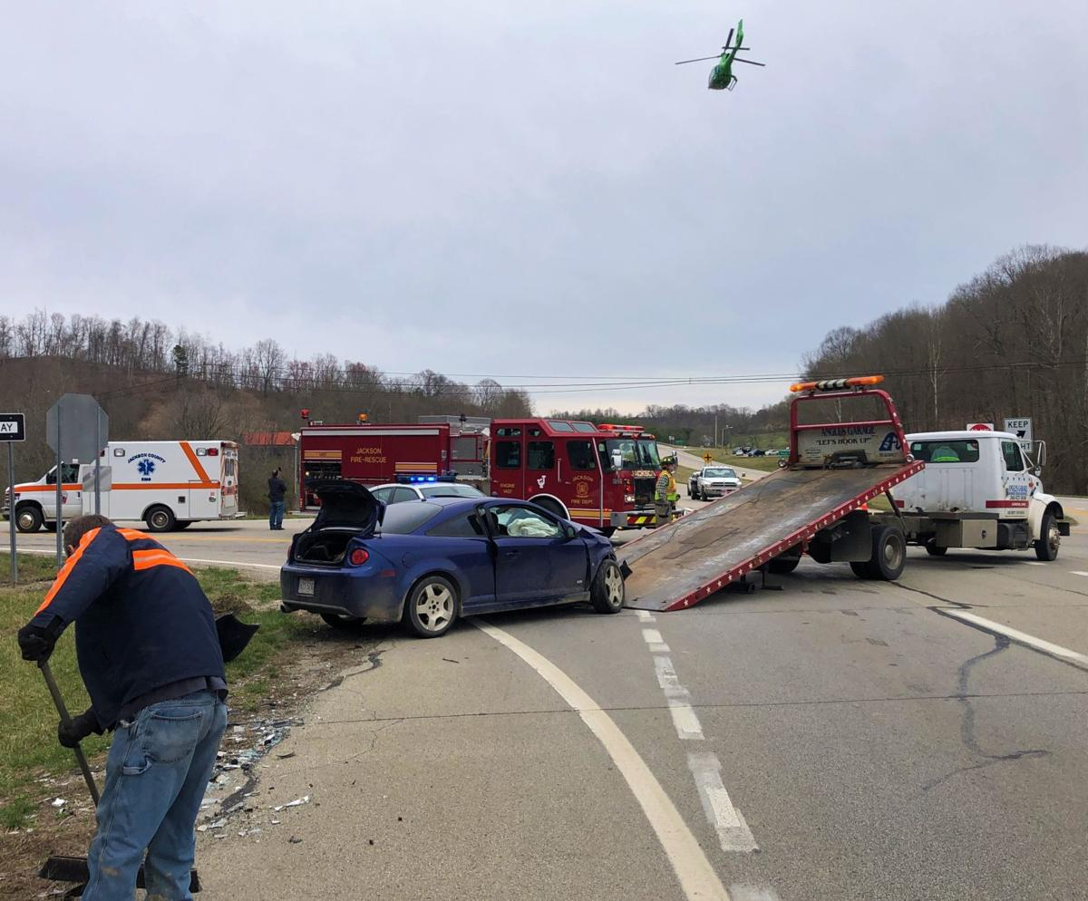 Crash Scene: State Route 32/State Route 139