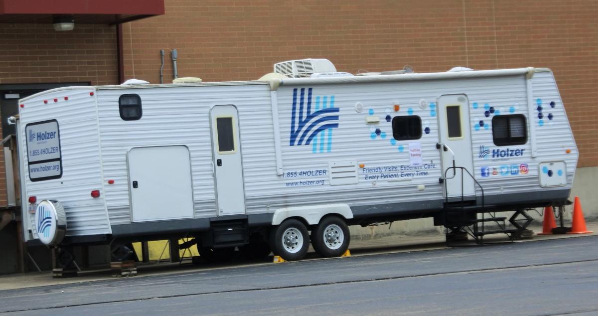 Holzer's mobile unit